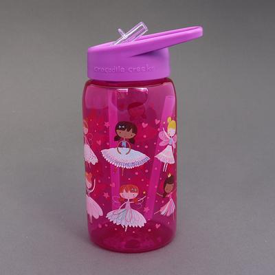 Gourde avec paille sans BPA Les fées danseuses