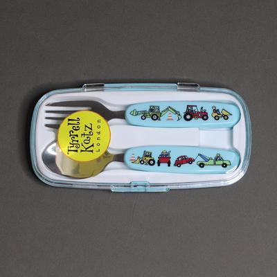 Lot cuillère et fourchette pour enfant Engins