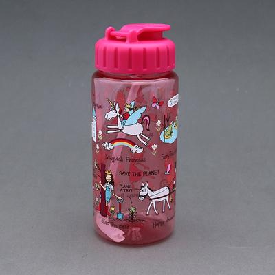 Gourde enfant + paille sans BPA Princesse Moderne