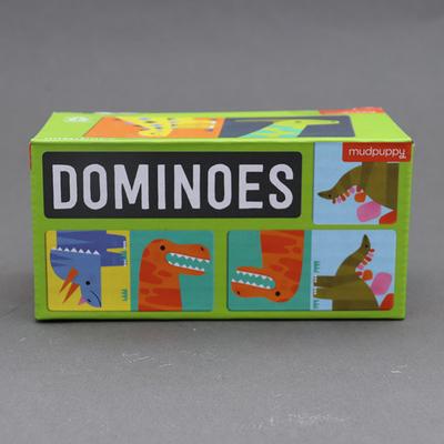 Jeu de dominos pour enfant Dinosaures