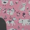serviette_table_enfants_cou_elastique_animaux_roses_2