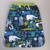 1019-serviette-de-table-elastiquee-animaux-d-afrique-bleu-lilooka