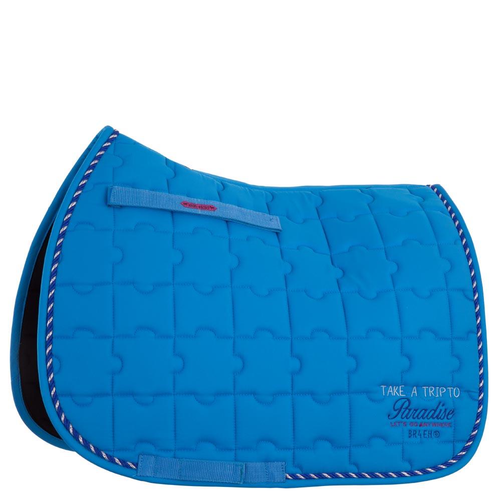 tapis de selle br 4 horses toucan cheval tapis de selle poney sellerie de peruwelz