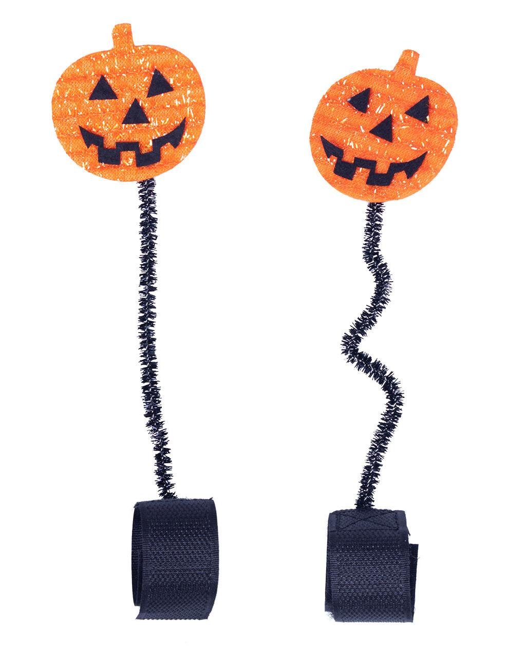 accessoires-halloween-citrouilles-têtiere-cheval