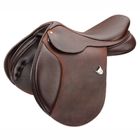 Selle obstacle Bates Caprilli close contact Heritage Leather