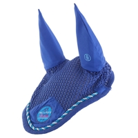 Bonnet anti-mouches Br 4-Ever Horses Siskin Bleu