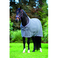 Rambo Deluxe Fleece Charcoal silver