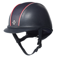 Casque AYR8 Leather Look, Piping Charlotte Dujardin Charles Owen