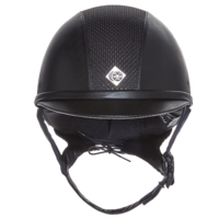 Casque AYR8 Leather Look noir Charles Owen