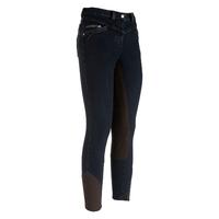 Pantalon d'équitation en jeans dame Cléo Full Seat Euro-Star