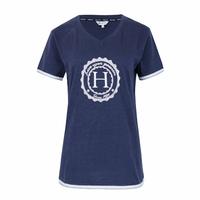 Havre T-shirt bleu Harcour