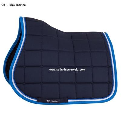 tapis de selle br xcellence mixte bleu marine bleu 165133_05_01