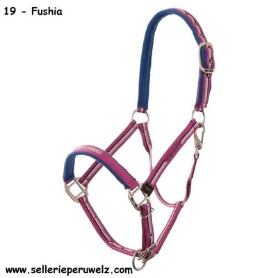 licol br 4ever horses fushia shetland mini rose 432159_19_01