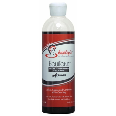 EquiTone-Black shampoing chevaux noirs