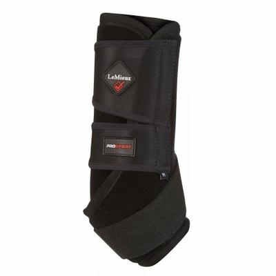 ultra support boots guêtres lemieux noire