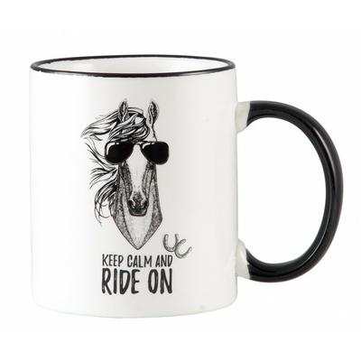 102641-mug-keep calm and ride a horse