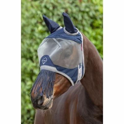 armour masque anti mouches lemieux avec franges sur le nez