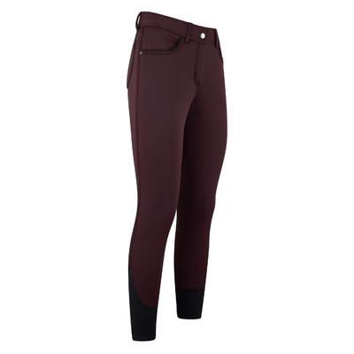 pantalon equitation easyrider La Xantippe softshell hiver bordeaux 70702-1040-4032