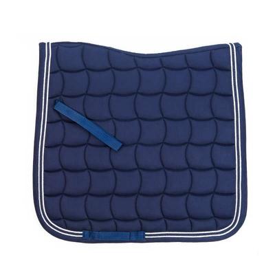 tapis de selle dressage lamicell mirage bleu marine 302150-1203