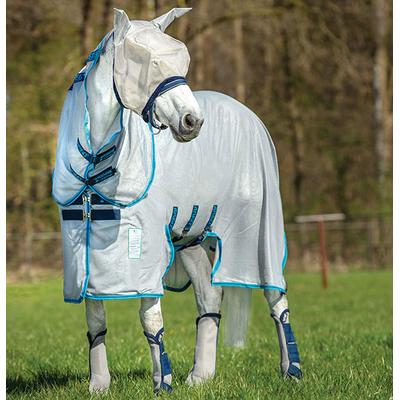 amigo-bug-buster-vamoose-horseware-anti-mouches-gris-bleu