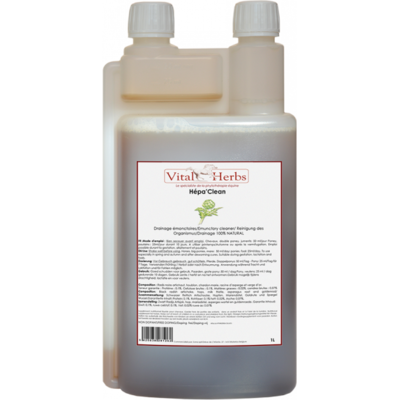 hepa-clean vital herbs drainant reins foie doseur