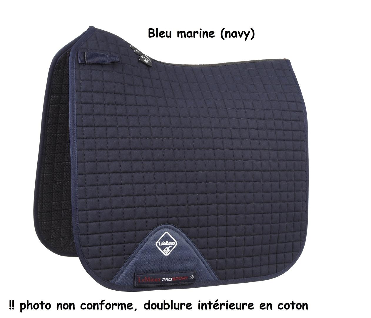 Tapis Lemieux Prosport Dressage Coton L Chevaltapis De Selle