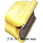 F.R.A. simple rasp yellow