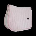 tapis-de-selle-mixte-velvet-pearls-kentucky-rose-tendre