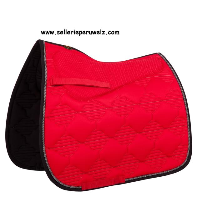 tapis de selle avec amortisseur int gr et couture dorsale. Black Bedroom Furniture Sets. Home Design Ideas