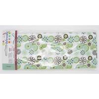 Tissu Coupon Petites Fleurs fond Blanc Artemio Oldies 45x55cm par 1 pc