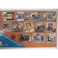 Bloc 12 cartes prédécoupées Travail Atelier  24,5cm