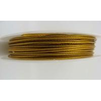 FIL CABLE 1mm VIEIL OR par 1 bobine/10m
