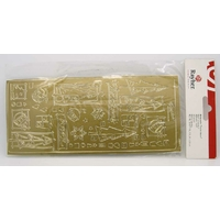 Peel Off motifs Autocollants Noël doré planche 23x10cm Stickers Rayher