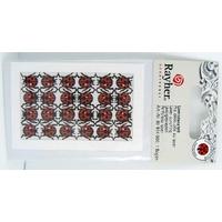 Découpes laser Papier Coccinelles Noir et Rouge Imprimés animal Rayher