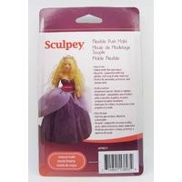 Moule Poupée pour argile pâte molle plaque12cm Sculpey