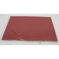 Carte à fenêtre Passe-partout 4 carrés Rouge 106x152mm double par 4 pièces