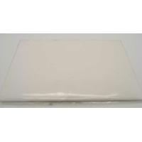 Carte à fenêtre Passe-partout 1 Coeur Blanc 106x152mm double par 4 pièces