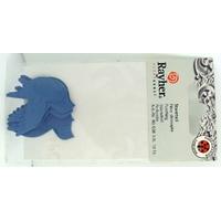 Découpe Papier Home déco Oiseaux Bleus 38mm Rayher par 10 pcs