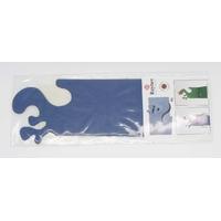 Cartes de table Home déco Bleu Foncé 17x4,8cm Rayher par 4 pcs