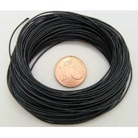 FIL Mix Coton Nylon 05mm NOIR par echeveau de 9 mètres