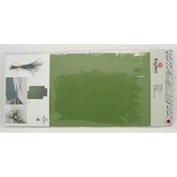 Feuilles papier scrapbooking déco 25x12cm Vert par 3 pcs