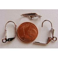 Boucles d'oreilles fermées Dormeuse Pendantes 18mm par 10 pcs