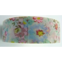 Ruban Masking Tape Petites fleurs pastel15mm x 8m