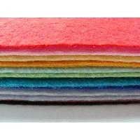 Feuilles Feutre Feutrine 30x20cm 1mm Mix 20 couleurs aléatoires
