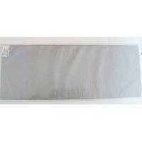 12 feuilles de papier de Soie 50x75cm Gris Argenté