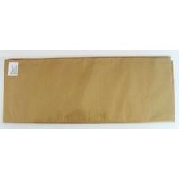 12 feuilles de papier de Soie 50x75cm Marron doré