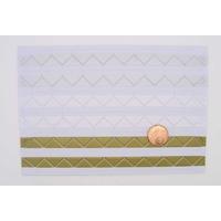 Stickers COIN pour Photo 3 couleurs Argenté - Blanc - Doré plastique par planche de 102 pcs