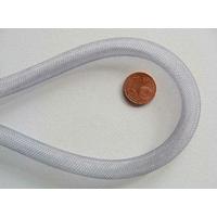 Fil Résille tubulaire GRIS 8mm par 5 mètres