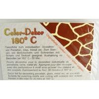 Color-Dekor 180 degrés motif Girafe pour décoration de céramique verre