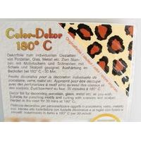 Color-Dekor 180 degrés motif Léopard pour décoration de céramique verre
